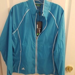 Adidas ladies golf windbreaker